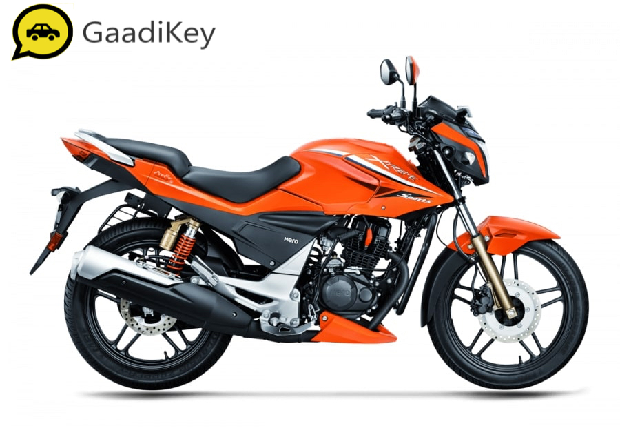 2019 Hero Xtreme Sports in Pyro Orange color
