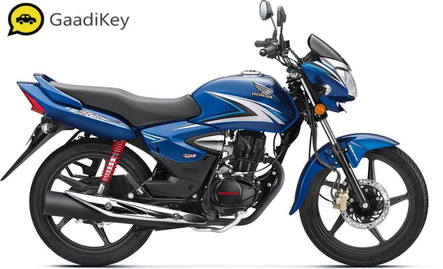 2019 Honda Shine in Athletic Blue Metallic color