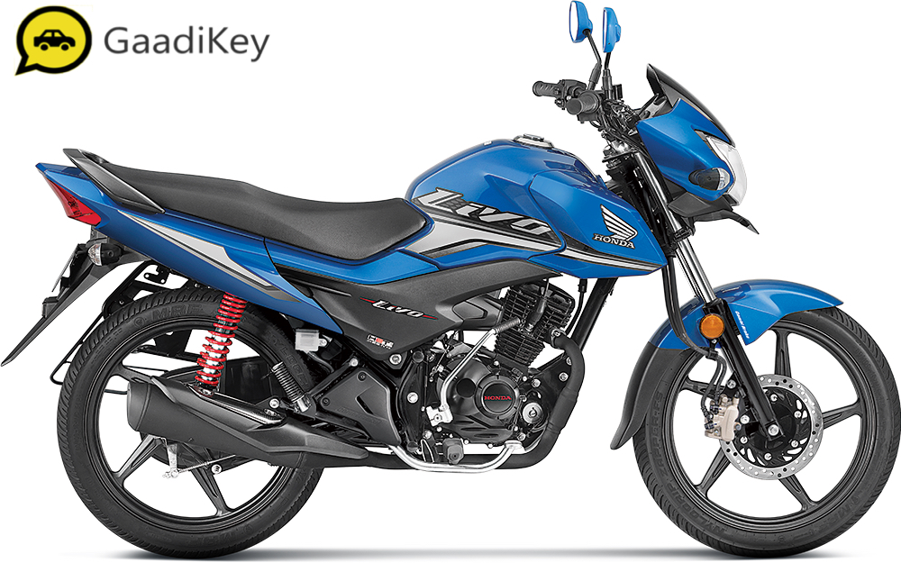 2019 Honda Livo in Athletic Blue Metallic color
