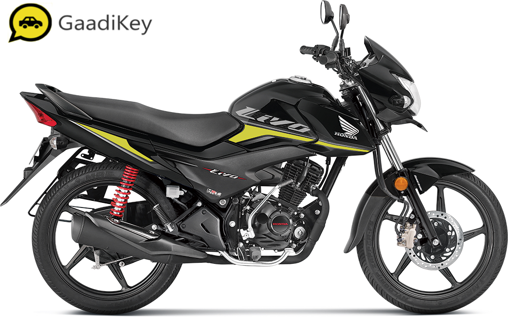 2019 Honda Livo in Black color.