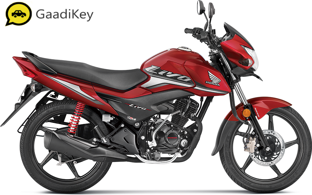 2019 Honda Livo in Imperial Red Metallic color