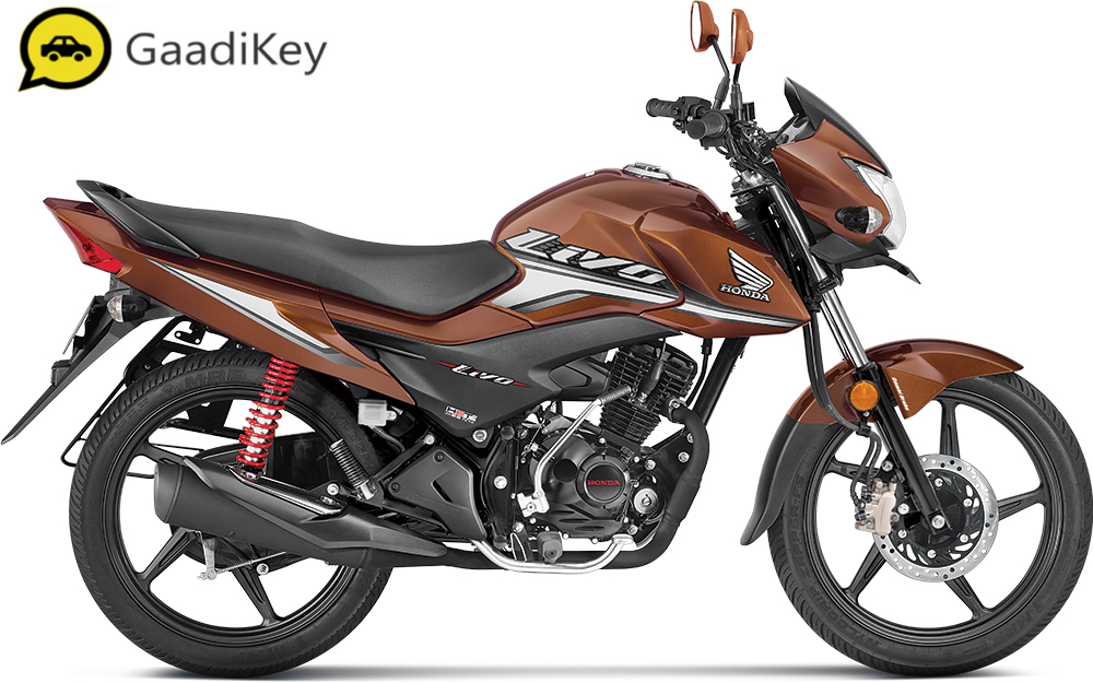 2019 Honda Livo in Sunset Brown Metallic color