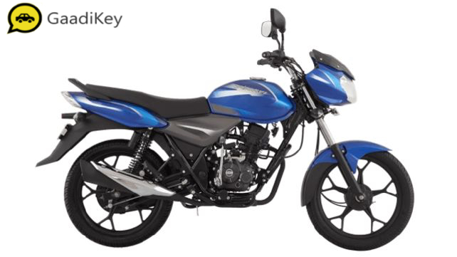 2019 Bajaj Discover 110 in Blue color
