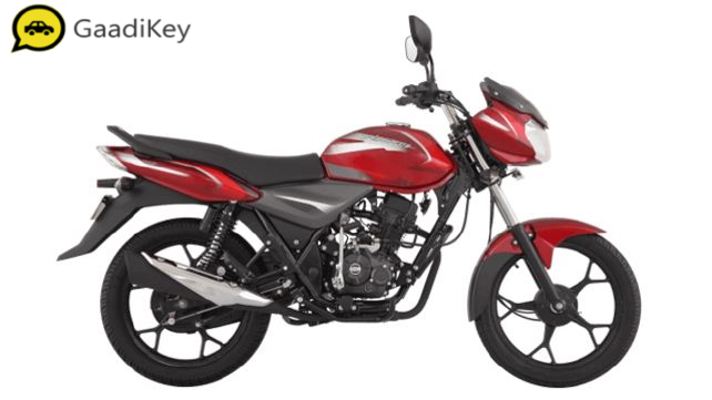 2019 Bajaj Discover 110 in Red color
