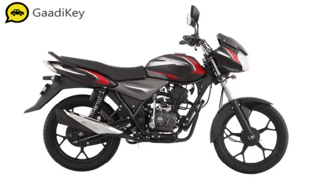 2019 Bajaj Discover 110 in Black color