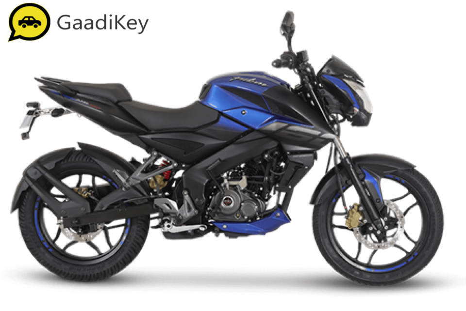 2019 Bajaj Pulsar NS160 in Saffire Blue color