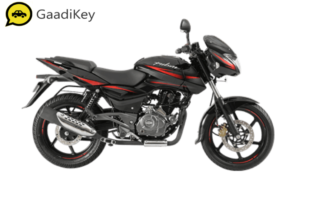 2019 Bajaj Pulsar 180 in Laser Black color.