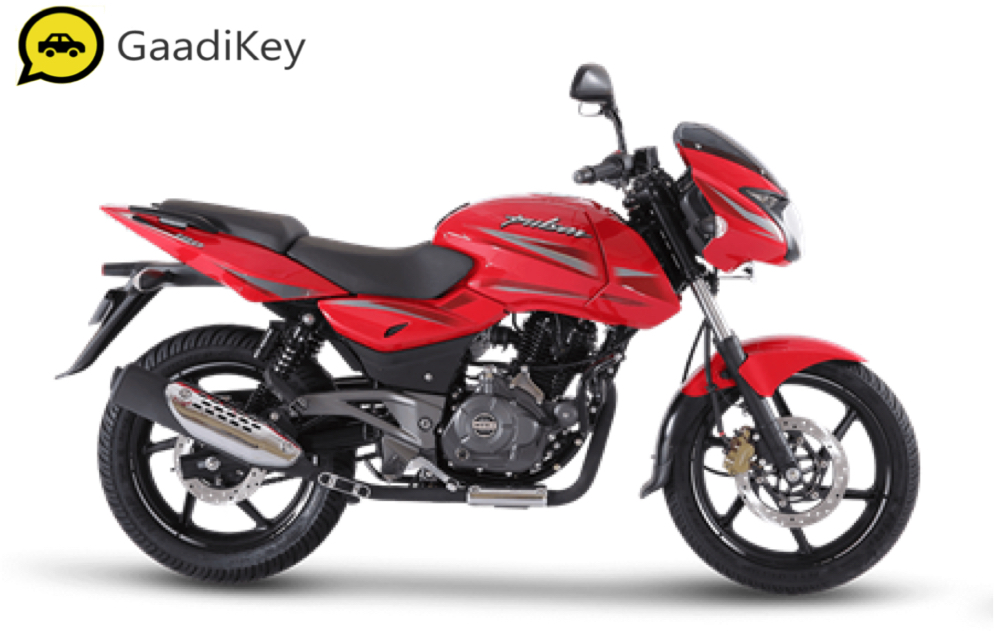 2019 Bajaj Pulsar 180 in Dyno Red color