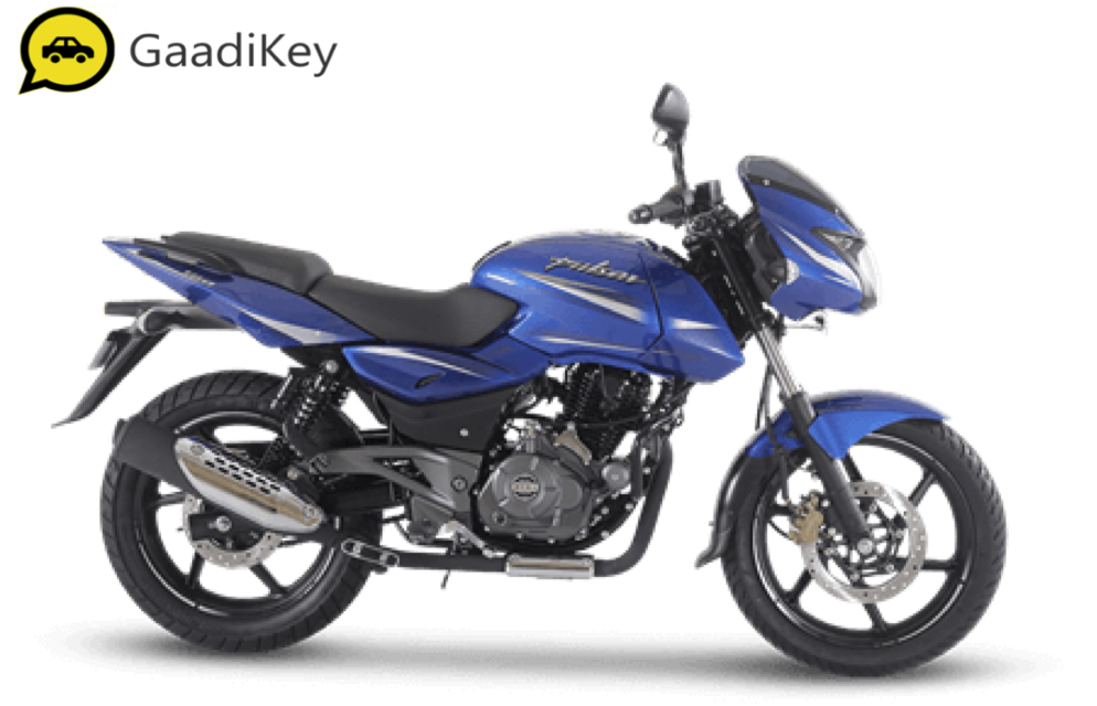 2019 Bajaj Pulsar 180 in Nuclear Blue color.