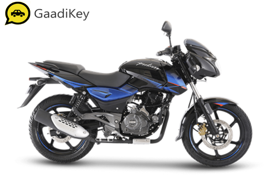 2019 Bajaj Pulsar 150 in Blue Black color