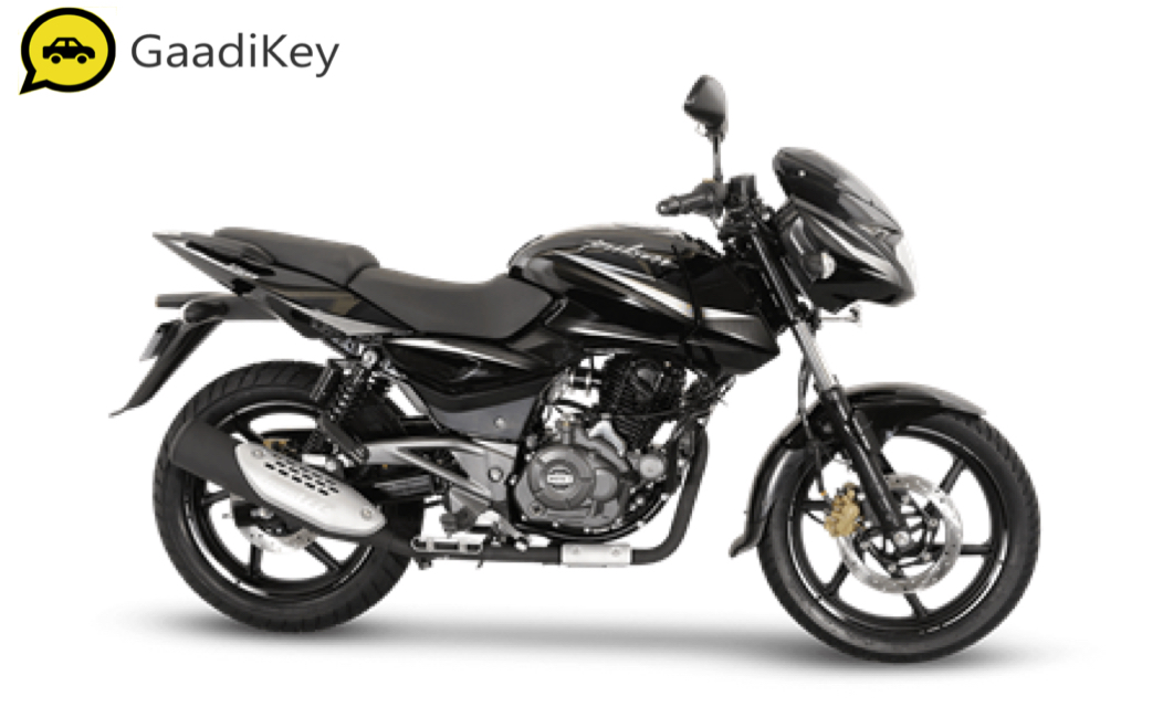 2019 Bajaj Pulsar 150 in Black Chrome color