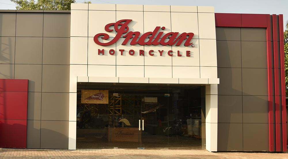 Indian Motorcycles Showroom in Kochi, Kerala -