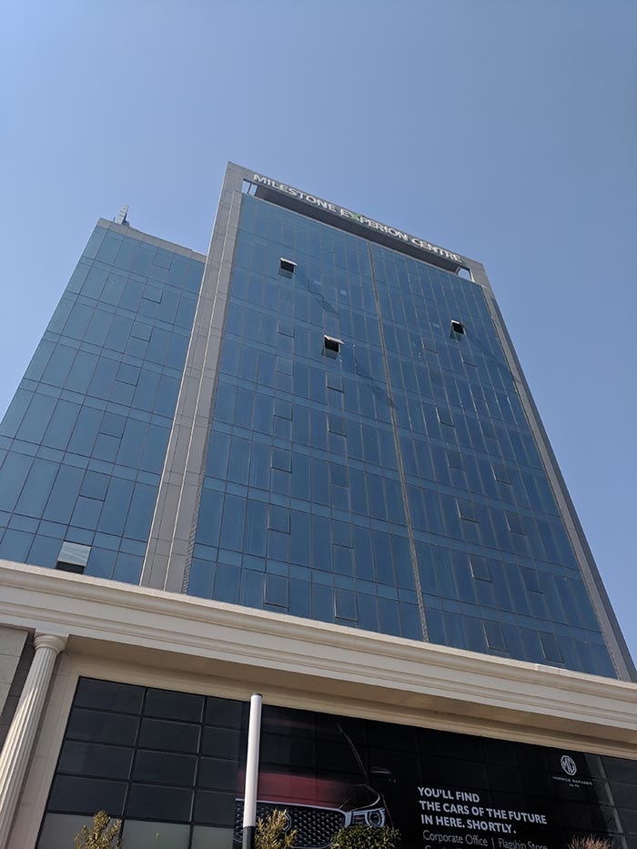 MG Motor India Office in Gurgaon