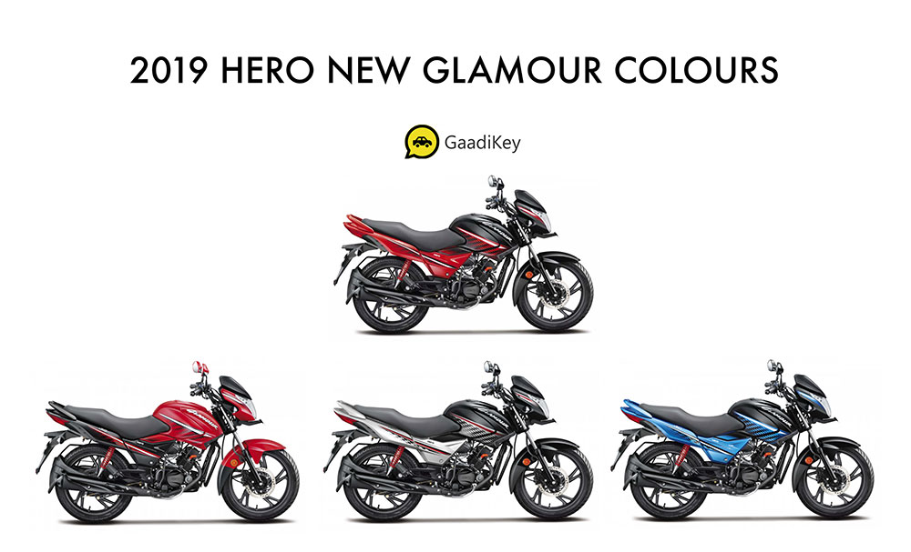 2019 Model New Hero Glamour Colors - New Glamour 2019 Colors - 2019 model Hero Glamour Colors