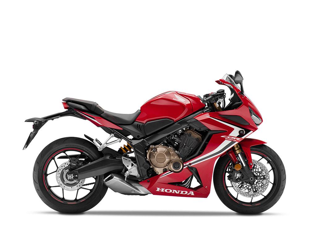 2019 Honda CBR650R Red Color - All New Honda CBR650R Red Color variant