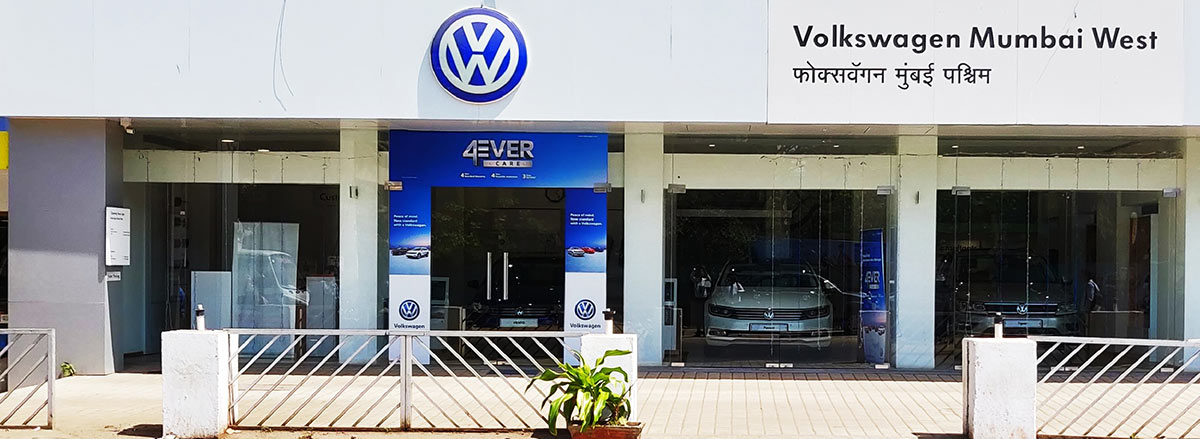 New Volkswagen Mumbai West Showroom