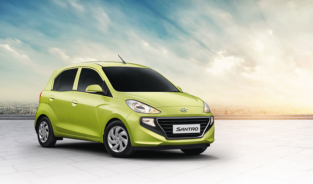 All New Hyundai Santro Urban World Car