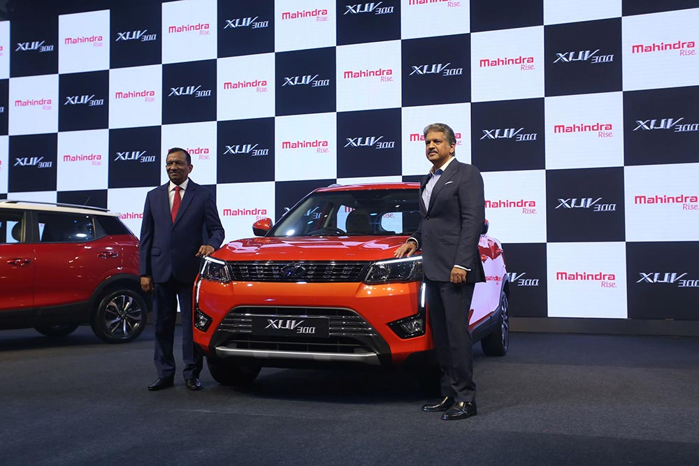 Mahindra XUV300 Launch Photo