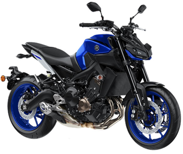 Yamaha MT-09 Yamaha Blue Color