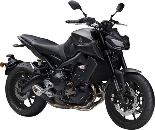 Yamaha MT-09 Tech Blue