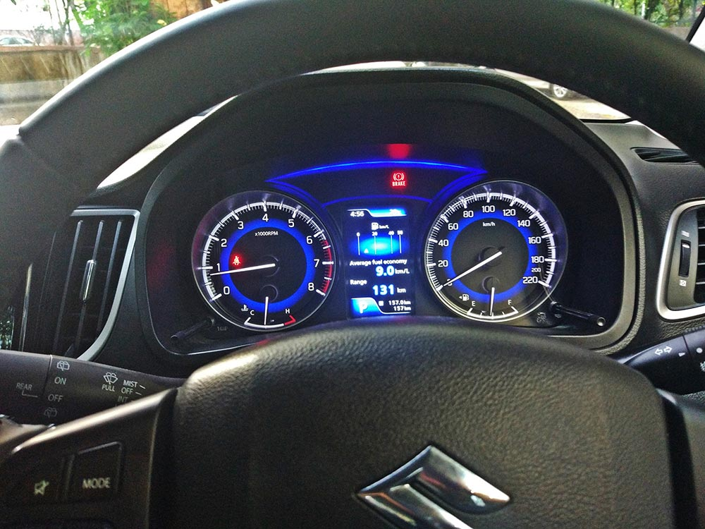2019 Maruti Baleno Front Instrument Cluster - New Baleno Suzuki Logo Instrument Cluster - Maruti Suzuki