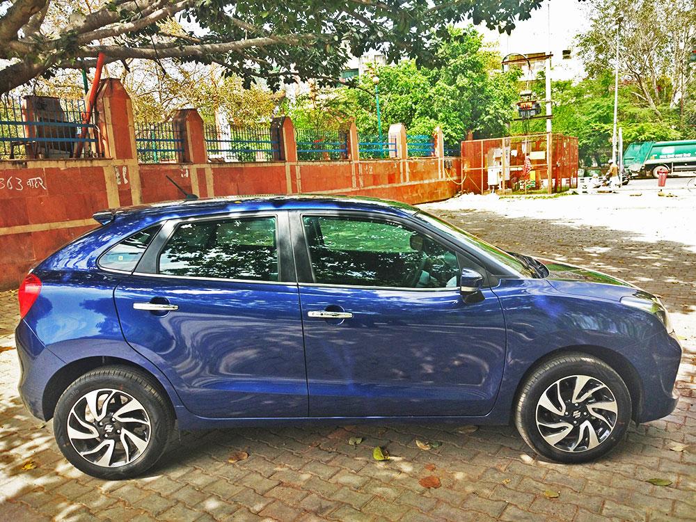2019 Maruti Baleno NEXA Blue Premium Hatchback