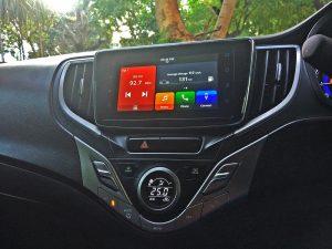 2019 Baleno Touchscreen Infotainment system