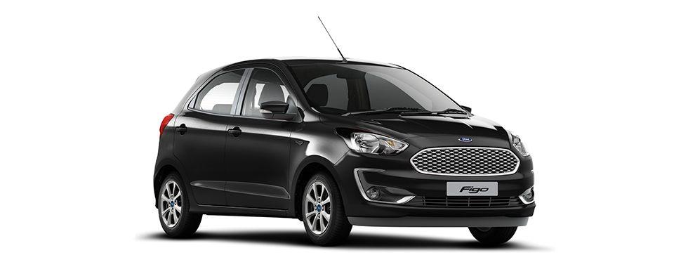 2019 Ford Figo Absolute Black Color - 2019 New Figo Black color