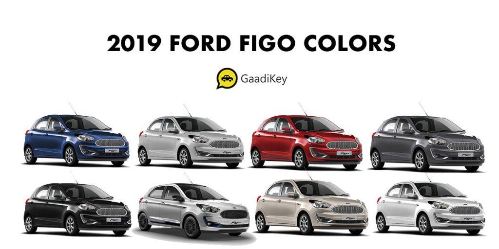 2019 Figo Colors - 2019 Ford Figo All Colors - New Figo 2019 Colors All