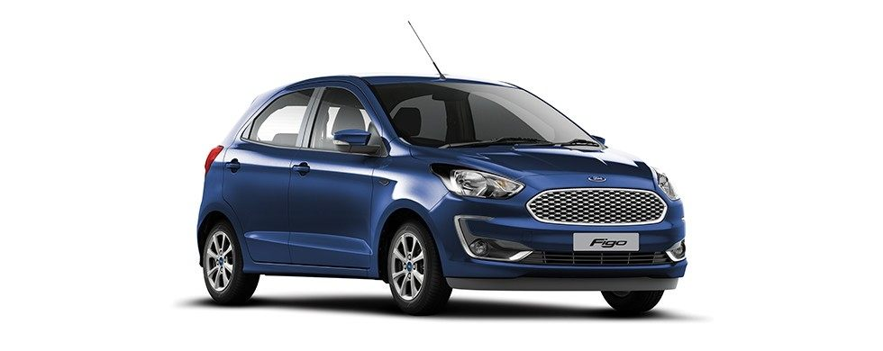 2019 Ford Figo Deep Impact Blue Color. 2019 New Figo Blue color option