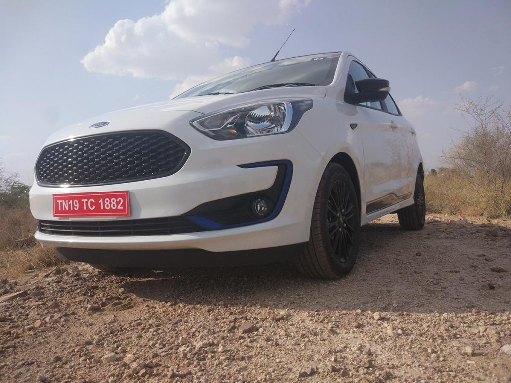 2019 Ford Figo White Color Option