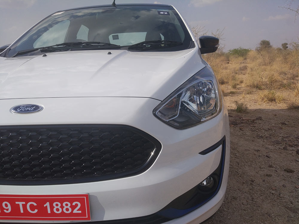 2019 Ford FIGO Front Grille