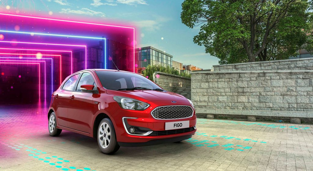2019 New Figo Red Color