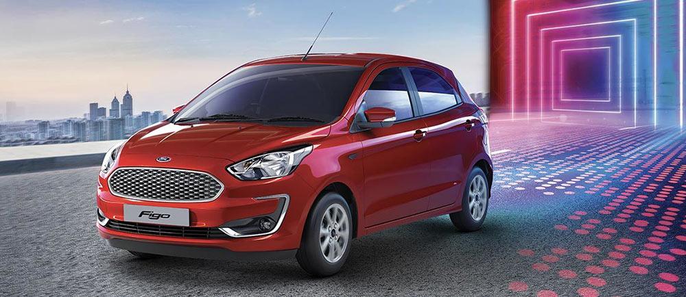 2019 Ford Figo Red Color