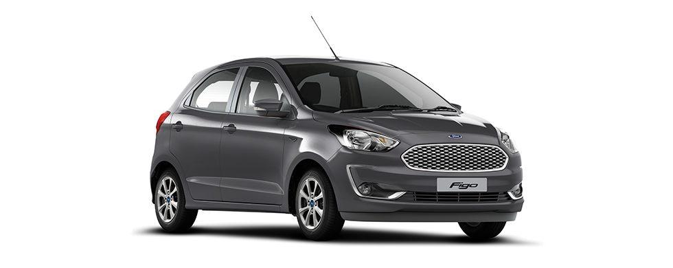 2019 New Ford Figo Smoke Grey Color - New 2019 Figo Grey Color option Smoke Grey