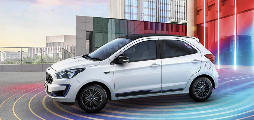 2019 Ford Figo White Color Option - New 2019 Figo model White Colour