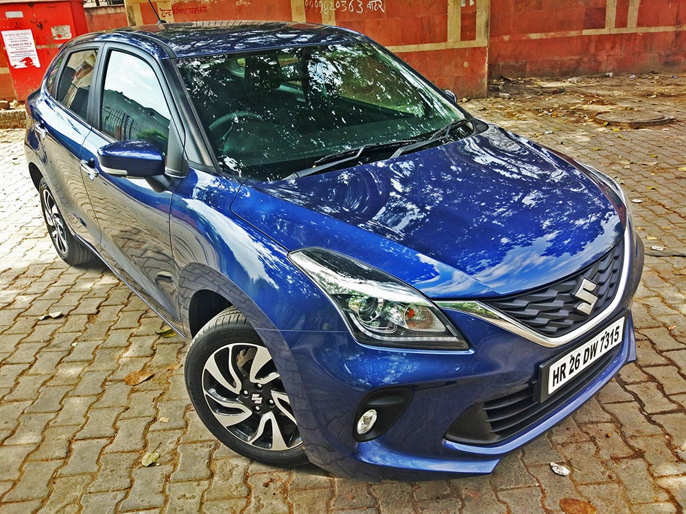 2019 Edition Maruti Baleno NEXA Blue . New Baleno Nexa Blue Color variant - New Baleno Design and Looks