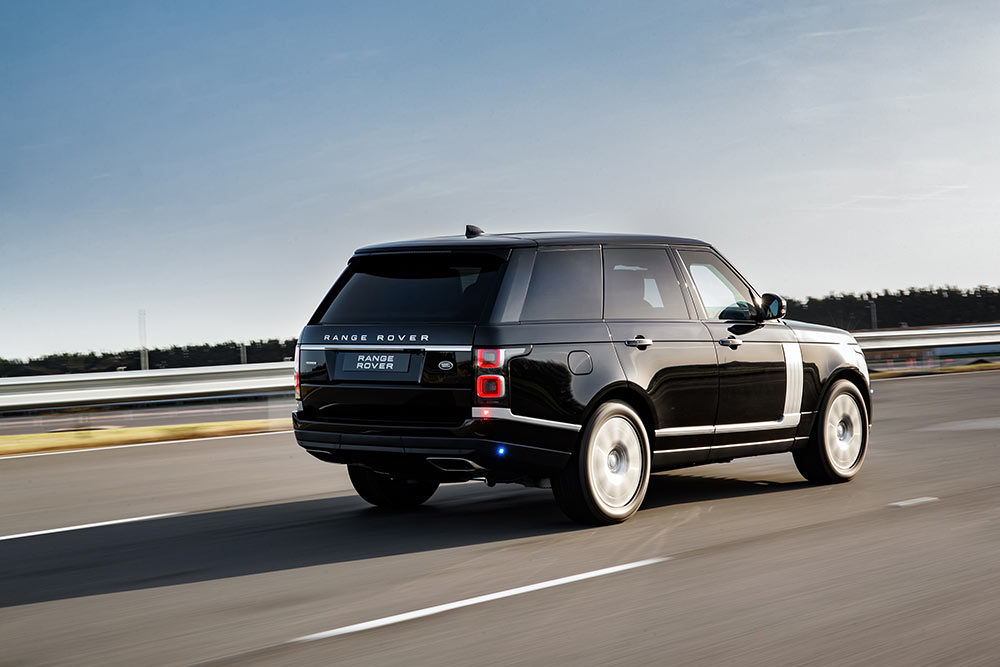 2019 Model Range Rover Sentinel