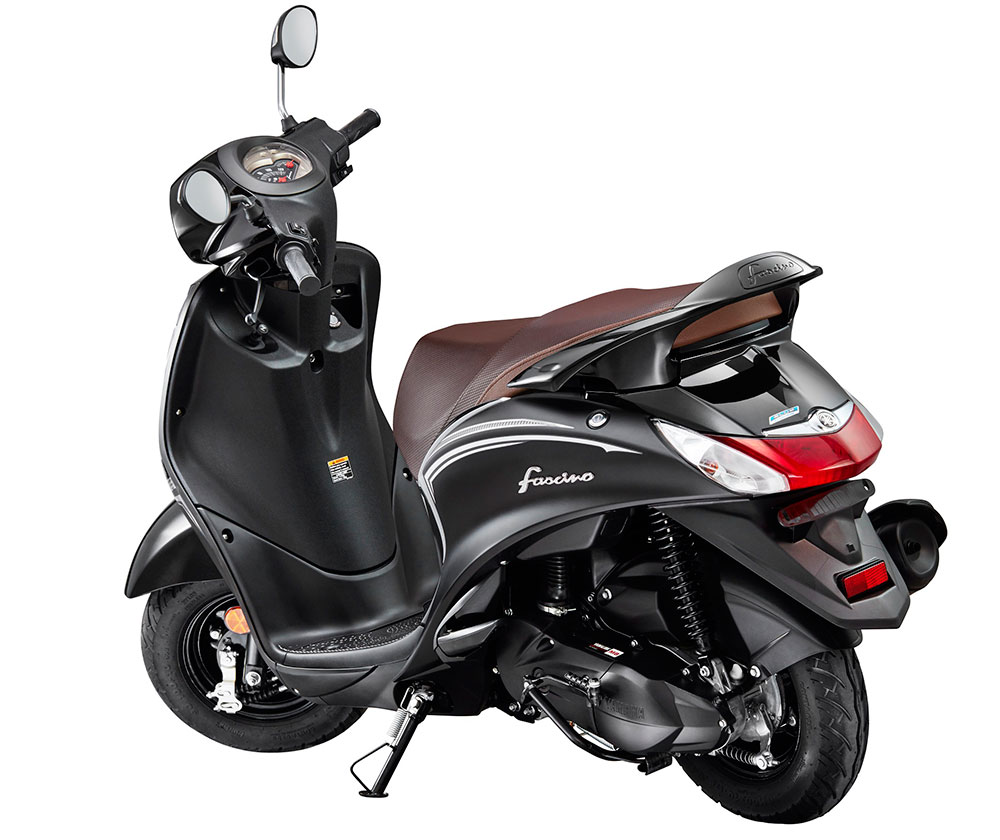 2019 Yamaha Fascino Dark Night Edition - Dark Nigh Black Color