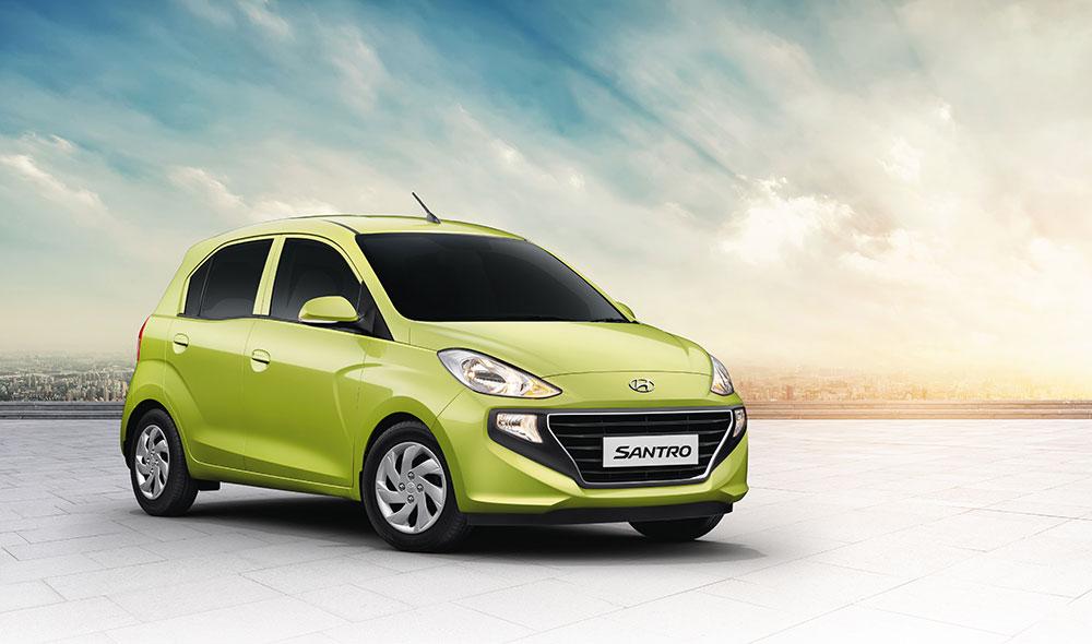 All New 2019 Hyundai Santro at Geneva Motor Show 2019