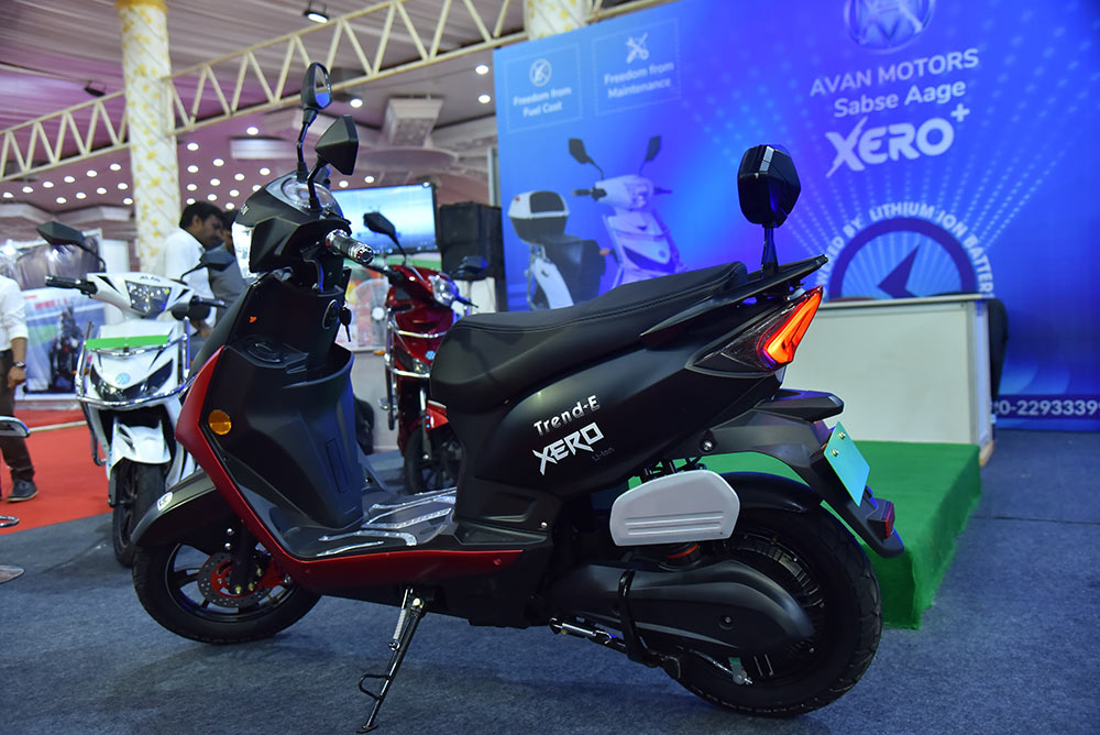 New Trend E Electric Bike by Avan Motors