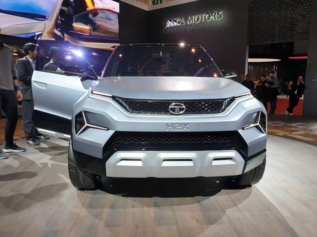 Tata H2X at Geneva Motor Show