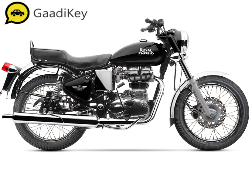 2019 Royal Enfield Bullet 350 ABS in Black color.