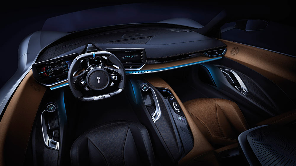 Pininfarina Battista Interiors