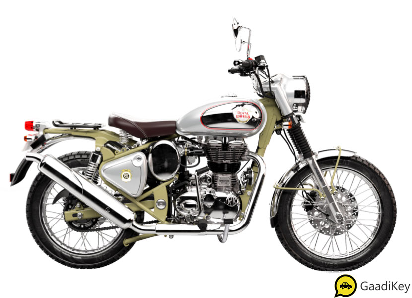 2019 Royal Enfield Bullet Trials 500 Green Color - New Bullet Trials 500 Green Colour