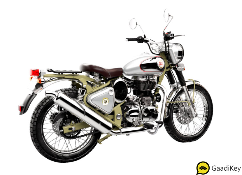 Royal Enfield Bullet Trials 500 Green Color - New Bullet Trials 500 in Green Color option