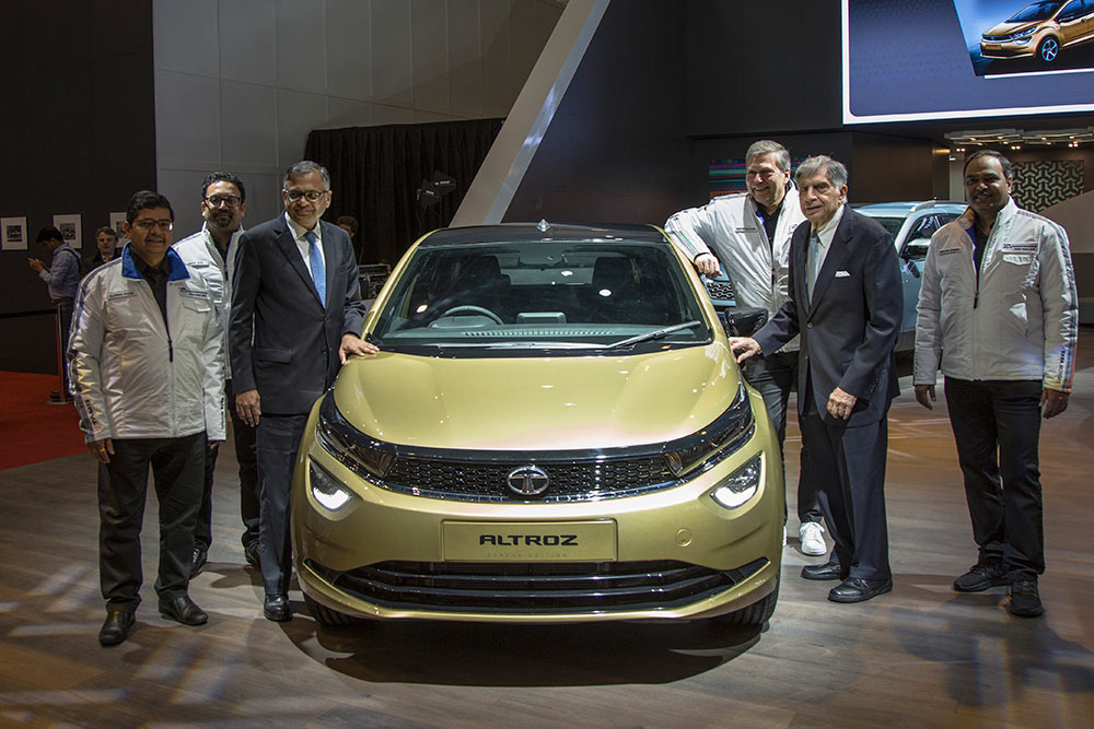 Tata Altroz Premium Hatchback - Soon to be launched in India - Showcased at Geneva Motor Show 2019
