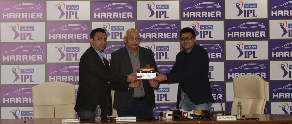 New Harrier from Tata Motors IPL 2019
