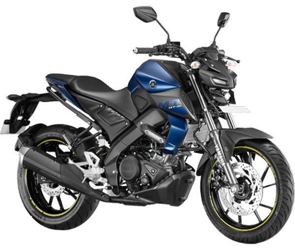 2019 Model Yamaha MT15 Blue Color variant. New 2019 Yamaha MT15 Dark Matt Blue color option.