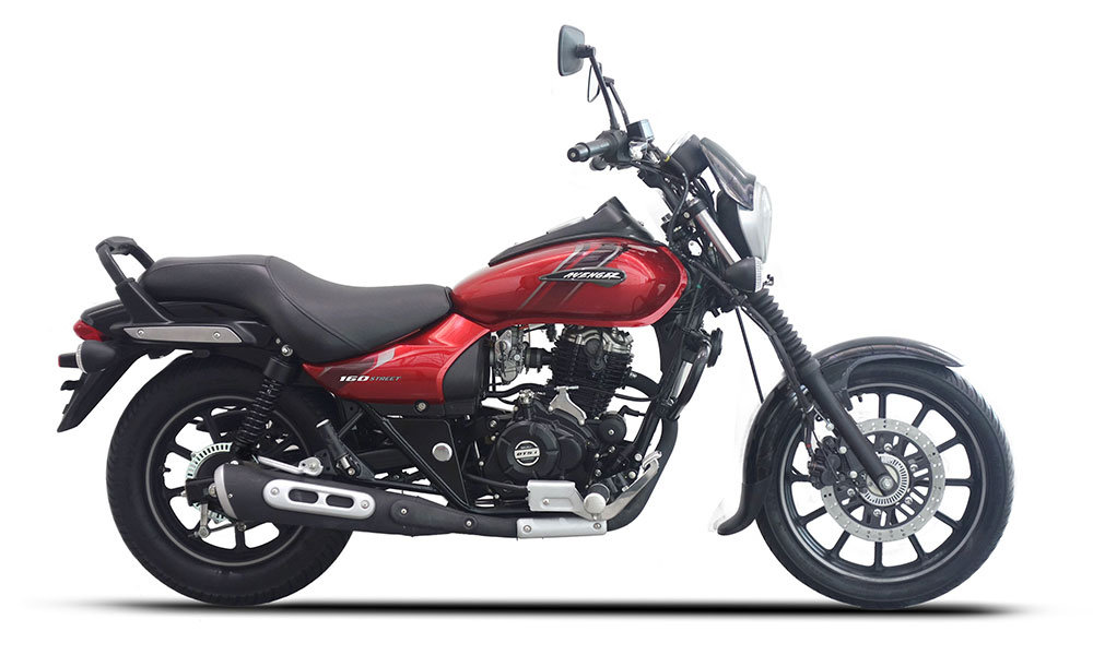 2019 Bajaj Avenger ABS Red Color option